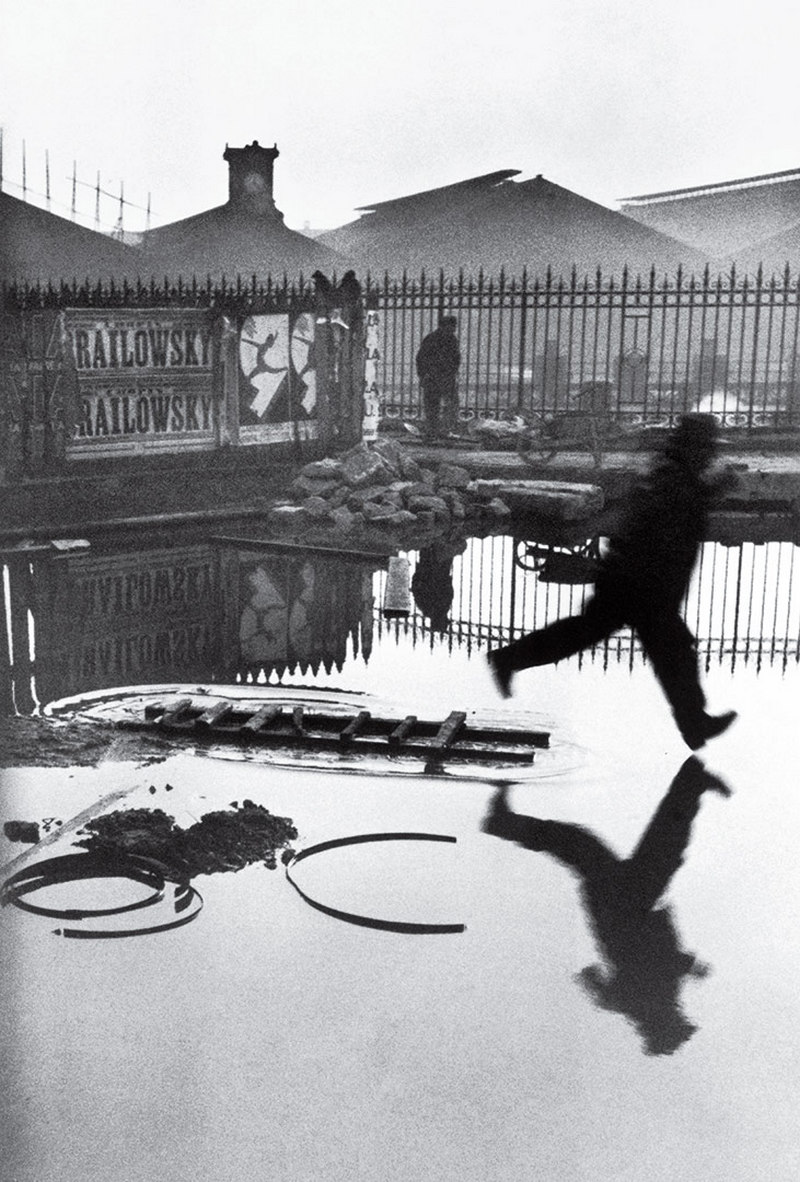 Behind the Gare Saint Lazare Henri Cartier Bresson 1932