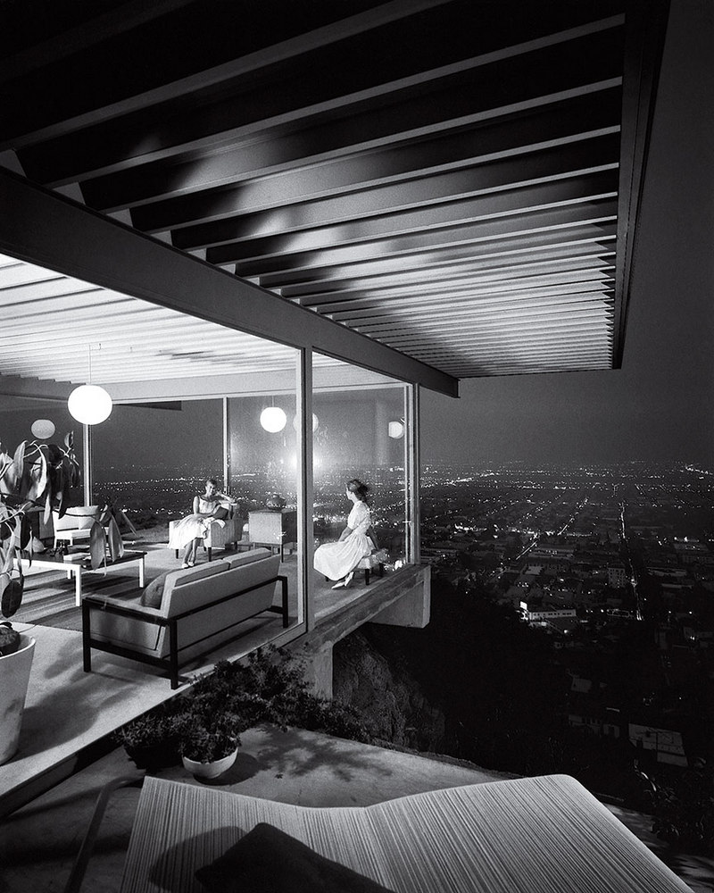 Case Study House no. 22 Los Angeles Julius Shulman 1960