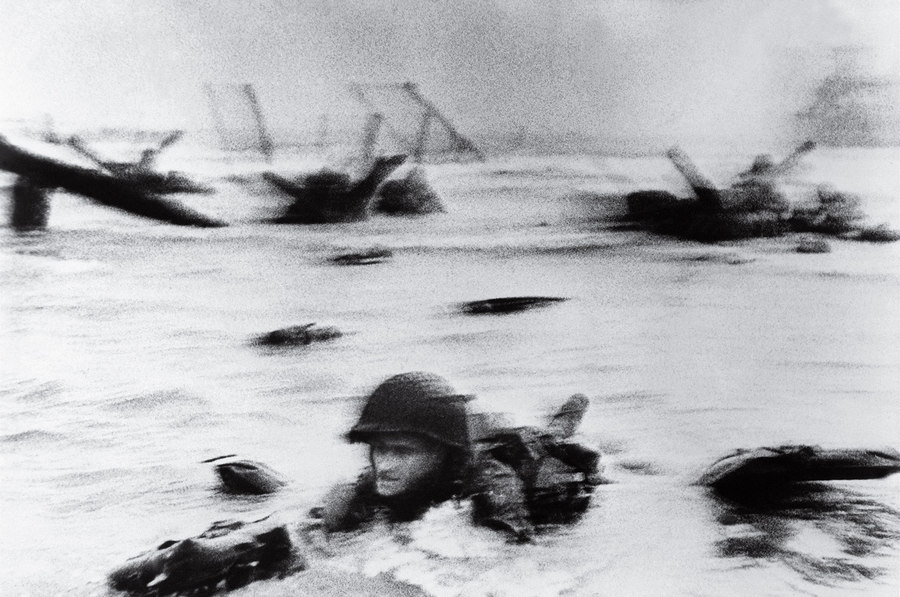 D Day Robert Capa 1944