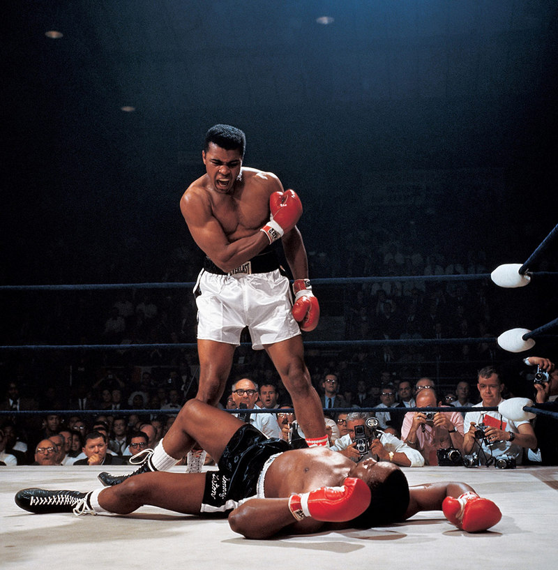 Muhammad Ali vs. Sonny Liston Neil Leifer 1965
