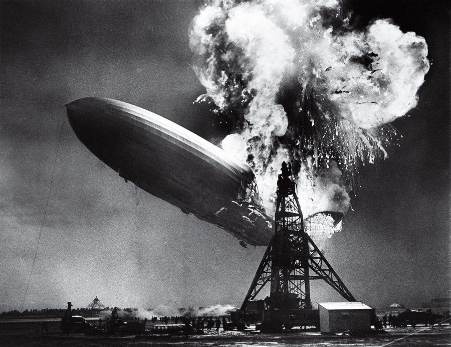 The Hindenburg Disaster Sam Shere 1937