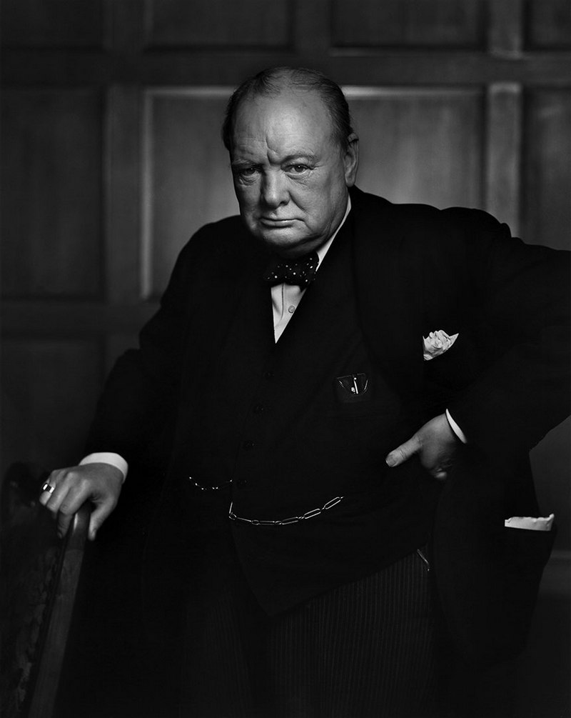 Winston Churchill Yousuf Karsh 1941