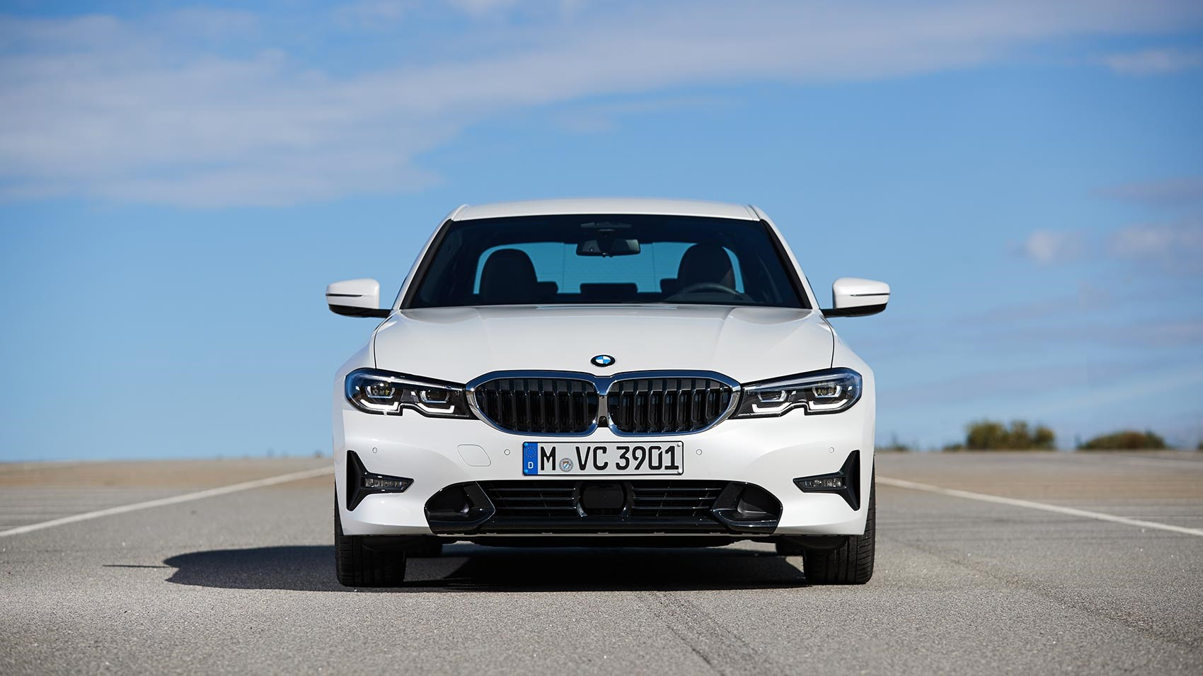 The face of the new BMW 3-series saloon: prices and specs in the CAR magazine review