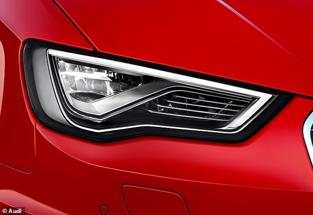 Blindingly expensive: A new report has uncovered the high cost of replacing blown headlight bulbs in cars fitted with the latest technology