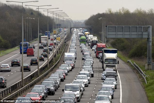 Great division: Poor drivers could be be priced off Britain