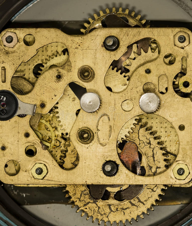 Clockwork old mechanical alarm